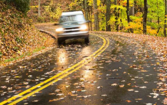drive safely in Autumn