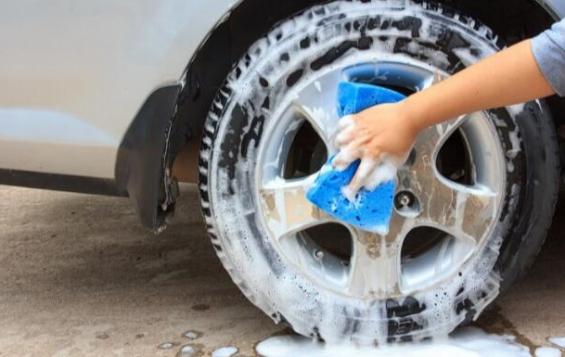 clean tires